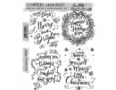 CMS285 Stampers Anonymous Tim Holtz Cling Mounted Stamp Set - Doodle Greetings #1